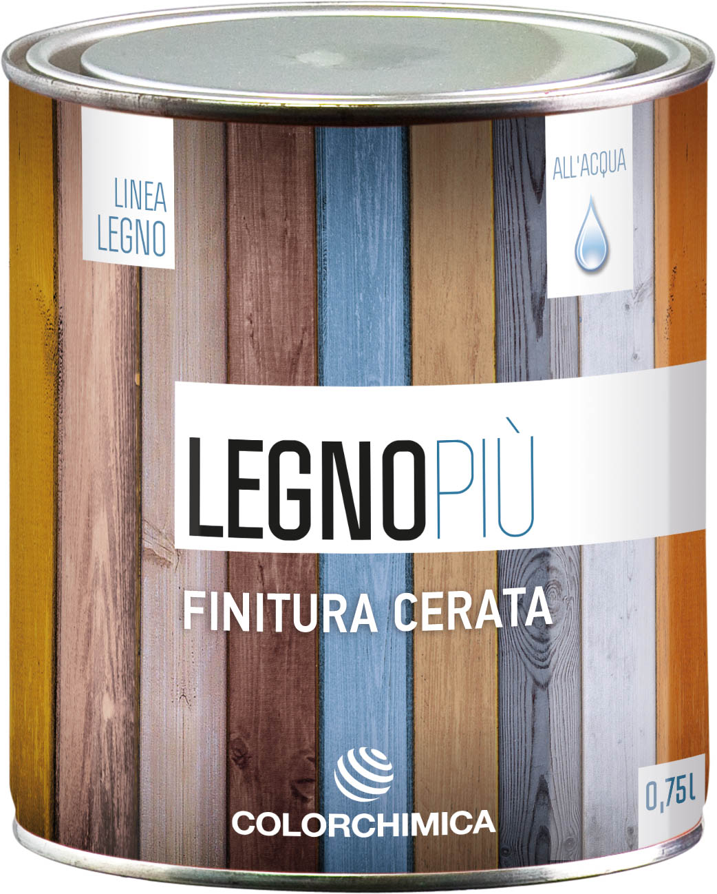 LegnoPiu NEW DESIGN Linea All'Acqua FINITURA CERATA