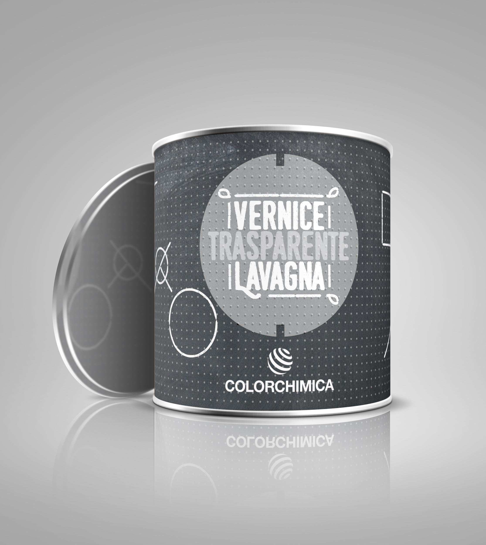 Vernice Lavagna Magnetica Colorata veice trasparente lavagna cod. 70015 - colorchimica spa